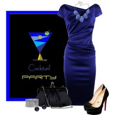 """""""Cocktail Party"""" by johnna-cameron on Polyvore"""