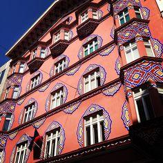 Secession architecture in Ljubljana, Slovenia: The Cooperative Bank