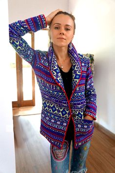 Boho Blazer / Cool Jacket / Coat with by ConspiracyBoutique
