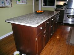 Brown mahogany.    Not Java.    General Finishes Gel Stain Update - Kitchens Forum - GardenWeb