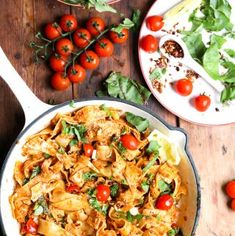 A quick and easy vegan recipe, perfect for a weeknight meal. A delightful combination of flavours makes this dish a vegan favourite. Gammon Recipes, Tart Recipes, Sweets Recipes, Curry Recipes, Easy Pasta Recipes, Vegan Recipes Easy, Easy Meals, Ginger Sweets, Weeknight Meals