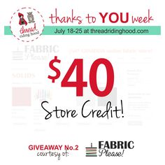 Thanks to YOU Week! Giveaway No.2 from @ritaferber