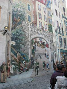 Mural, Quebec, Canada