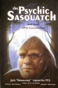 I am a sucker for books like this on bigfoot, ufos, the Bermuda Triangle and all the other stuff that hangs out in the 000's. I have been known to settle in and watch Finding Bigfoot on the Animal Planet. Evidently, Michigan is a top Bigfoot hangout. (Even today, as I was writing this, Bigfoot has been sighted and he is looking for pizza.)