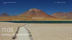 Windows Blickpunkt ist eine in Windows 10 enthaltene Funktion, die Bing das automatische Herunterladen von Hintergrundbilder verwendet, damit hat man gelegentlich bei der Anmeldung ein neues Hintergrundbild beim Sperrbildschirm. Think, Mount Rainier, Timeline, Mountains, Nature, Travel, Monitor, Dots, Background Images