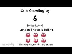 Ditch those boring flashcards and memorize multiplication facts easily with these engaging, free skip counting song videos. Multiplication Songs, Math Songs, Math For Kids, Fun Math, Skip Counting Songs, Math Drills, Homeschool Math, Homeschooling, Math Help