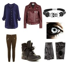 Fnaf 3 phantom ballon boy inspired outfit by mangle87 on Polyvore featuring polyvore, moda, style, Acne Studios, Karen Millen, Rock & Candy, Bling Jewelry and 8