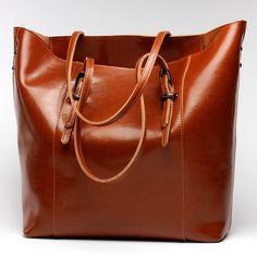 여성 정품 가죽 어깨 가방 여성 가방 소 휴대용 쇼핑 가방 빈티지 대용량 토트 Bolsos