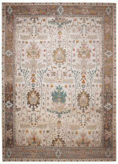 4293 Classic Contemporary Recycled Sari Silk Rug 368x270cm