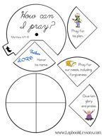 Prayer Lapbook, The Lord's Prayer