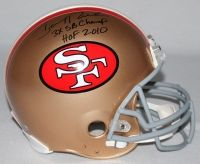 """JERRY RICE Signed LE 49ers Full-Size Authentic Pro-Line Helmet Inscribed """"3X SB Champ"""" & """"HOF 2010"""" STEINER COA LE 80 - Game Day Legends"""