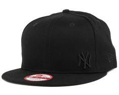 New Era - NY Yankees Flawless Black/Black 9Fifty Snapback