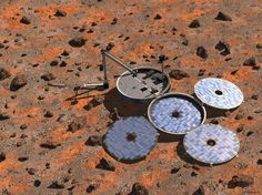 Beagle-2 spacecraft discovered on Martian surface By Anthony Wood 1/19/15 Lost since 2003, the UK-led Beagle-2 Mars lander has finally been discovered on the Martian surface by NASA's Mars Reconnaissance Orbiter (MRO).