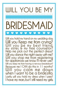 Bridesmaid Proposals - We've got amazing ideas to help you propose to your girls! | Yes Baby Daily