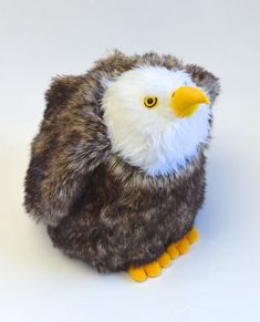 Colorful Phoenix Animal Art Silhouette Winter Earmuffs Ear Warmers Faux Fur Foldable Plush Outdoor Gift