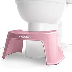 """Squatty Potty The Original Bathroom Toilet Stool 7""""- White"""