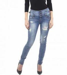 80fb1d41df620 Eunina Jeans Women s Plus Size High Waisted Stretch Skinny Jean Plus Size  Women