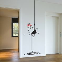 Wall decal Snapling Wally - Vinyl Wall Sticker