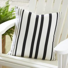 Found it at Wayfair - Jenna Striped Outdoor Pillow