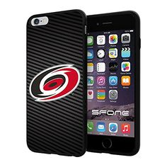 "Carolina Hurricanes Carbon Fiber Design #1718 iPhone 6 Plus (5.5"") I6+ Case Protection Scratch Proof Soft Case Cover Protector SURIYAN http://www.amazon.com/dp/B00X4KQPLG/ref=cm_sw_r_pi_dp_.Oiwvb0JTD4HG"