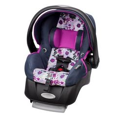 Evenflo Embrace Select Infant Car Seat with Sure Safe Installation Florence *** Check out the image by visiting the link. (This is an affiliate link) Baby Girl Car Seats, Toddler Car Seat, Car Seat And Stroller, Car Seat Weight, Baby Car Mirror, Baby Footprints, Baby Swings, Dream Baby, Baby Sister