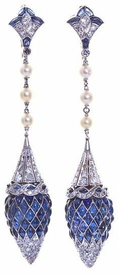 beautyblingjewelry:  french art deco diam fashion love