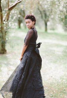 Moody Glamour Meets Classic Romance - WHITE Magazine