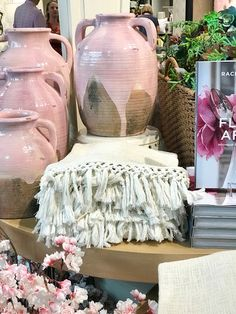 Being a designer for over 20 years I frequently source from Ballard Designs . the great brand started by Helen Ballard Weeks in Ginger Jar Lamp, Ginger Jars, Ballard Designs, White Pitchers, Blue And White, Pillows, Boutiques, Lamps, Decor Ideas