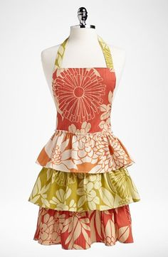Such fun!  Design Imports 'Tropical Trio' Apron available at #Nordstrom
