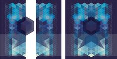 Inspired by the geometry by Svetlana Kyleshova, via Behance