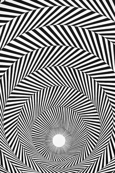 Recherche Documentaire Illusion - Bridget Riley - Blaze 4, 1964 [close-up] by de_buurman, via Flickr