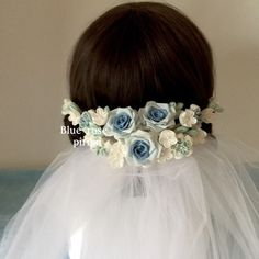 Wedding Accessories, Hair Accessories, Fabric Flowers, Diy Wedding, Ribbon, Flower Girl Dresses, Bows, Wedding Dresses, Creema