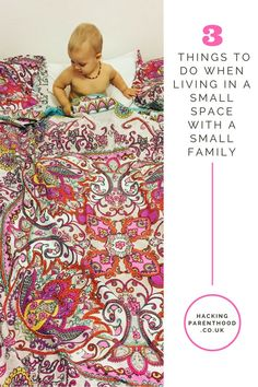 3 things to do when living in a small space with a small family. Gentle Parenting, One Bedroom, Small Spaces, Minimalism, Things To Do, Kids Rugs, Hacks, Home Decor, Things To Make