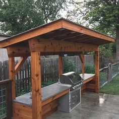 If you are looking for Outdoor Grill Station, You come to the right place. Here are the Outdoor Grill Station. This post about Outdoor Grill Station was posted und. Outdoor Grill Area, Outdoor Grill Station, Grill Gazebo, Pergola Patio, Grill Canopy, Outdoor Grilling, Pergola Kits, Outdoor Cooking Area, Barbecue Area