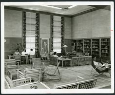 Music and Fine Arts Room, 1950
