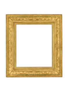 American Taos Style Gilt Frame by the Newcomb-Macklin Company | The HighBoy | blog.thehighboy.com
