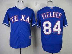 http://www.xjersey.com/rangers-84-fielder-blue-jerseys.html RANGERS 84 FIELDER BLUE JERSEYS Only $33.00 , Free Shipping!