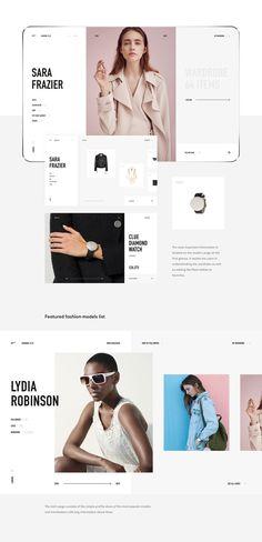 clct — Fashion Social Network Tool on Behance Fashion Web Design, Network Tools, Girl Photo Shoots, Web Layout, Website Layout, Layout Design, Ui Design Inspiration, Responsive Web Design, Site Design