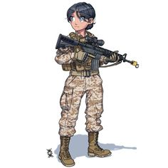 Fantasy Comics, Anime Fantasy, Anime Military, Soldiers, Hero, Girls, Fictional Characters, Toddler Girls, Daughters