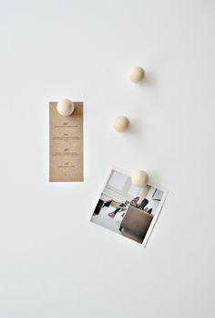 Minimal wooden DIY f