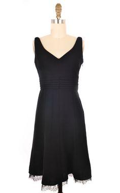 Ann Taylor Petites Black Sleeveless Dress Size 0   ClosetDash  #fashion #style #dresses