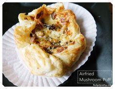 May 31- Airfried Mushroom Puff