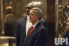Pastor Robert Jeffress is seen in the lobby of Trump Tower on January 3, 2017 in New York City. Pool photo by Albin Lohr-Jones/UPI