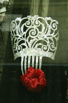 Peineta - Spain's famous flamenco comb.