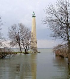 "Grand Lake St. Marys Lighthouse ""Northwoods Lighthouse""  Grand Lake St. Marys  Ohio US~~	40.543333, -84.481389"