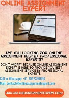 Get best assignment help by our professional assignment writing experts help you to get A+ grades. We have a team of professional assignment writing experts gives you 24*7 support to make a best assignment for you.