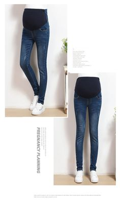 3cf3c7f74df90 Mom denim overall trousers grossesse Women Jeans Pregnant pencil Prop Pants  Clothing For maternity Clothes plus size embarazada