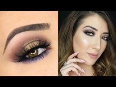 Brown and Purple Halo Smokey Eye Makeup Tutorial | Sigma Beauty Nightlife Palette - YouTube