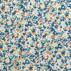 Betty Eliza Ditsy Floral: 100% cotton poplin. Medium weight cotton, ideal for quilting and dressmaking projects. 140cm wide.