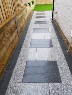 Grey Paving, Granite Paving, Paving Slabs, Granite Flooring, Porch Tile, Patio Tiles, Outdoor Tiles, Car Porch Design, House Gate Design